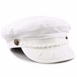 Other - White Greek Fisherman's Hat